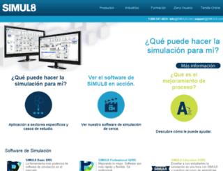 simul8.es screenshot
