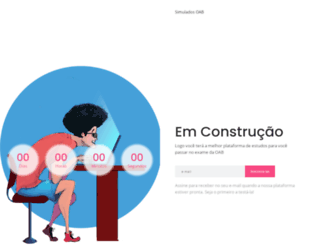 simuladosoab.com.br screenshot