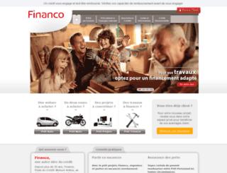 simulationcredit.financo.fr screenshot