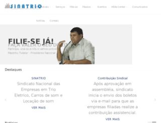 sinatrio.com.br screenshot