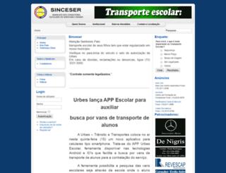 sinceser.com.br screenshot