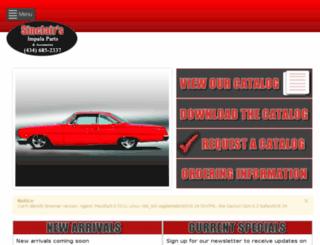 sinclair.mcdarmontwebdesign.com screenshot