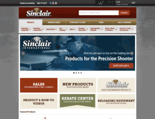 sinclairintl.com screenshot