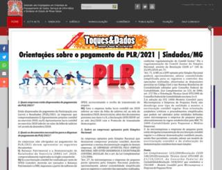 sindados-mg.org.br screenshot