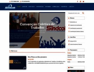 sindcob.com.br screenshot