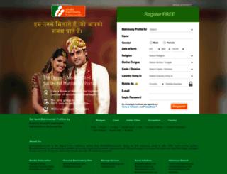 sindhi.matrimony.com screenshot