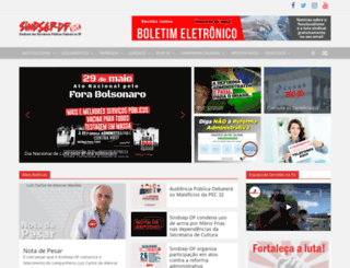 sindsep-df.com.br screenshot