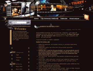 sinema.isikun.edu.tr screenshot