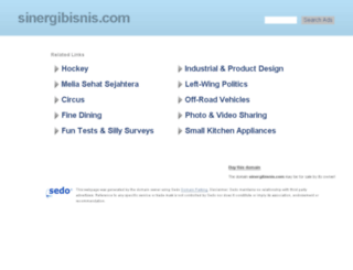 sinergibisnis.com screenshot