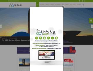 sinfa-rj.org.br screenshot