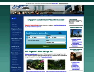singapore-vacation-attractions.com screenshot