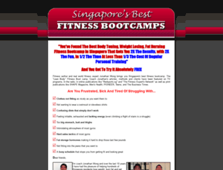 singaporebootcamp.com screenshot