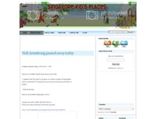 singaporekidsplaces.com screenshot