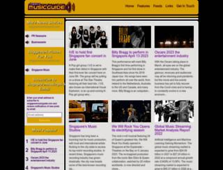 singaporemusicguide.com screenshot