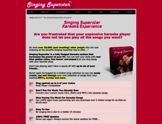 singing-superstar.com screenshot