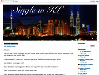 single-in-kl.blogspot.com screenshot