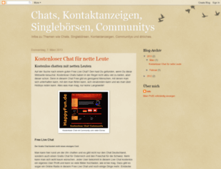 single-infos.blogspot.de screenshot