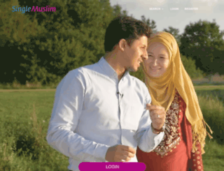 singlemuslim.co.uk screenshot