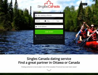 singlescanada.com screenshot