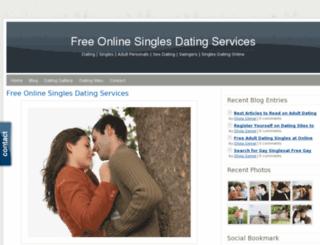 singlesonlinedating.webs.com screenshot