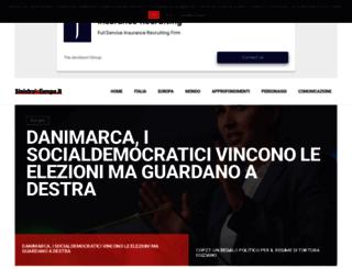 sinistraineuropa.it screenshot