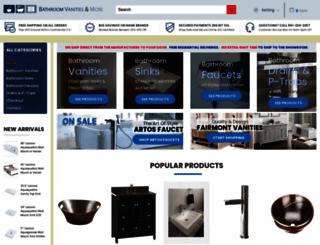 sinksfaucetsandmore.com screenshot
