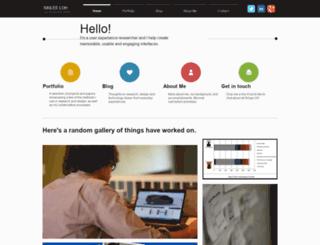 sinlee.com screenshot