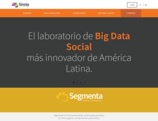 sinnia.com screenshot