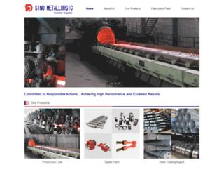 sinometallurgic.com screenshot