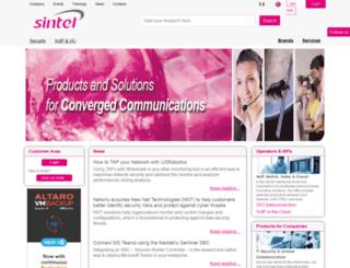 sintel.com screenshot