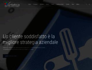 sinteticaweb.it screenshot