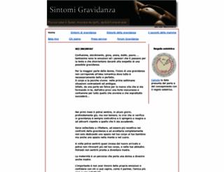 sintomi-gravidanza.it screenshot