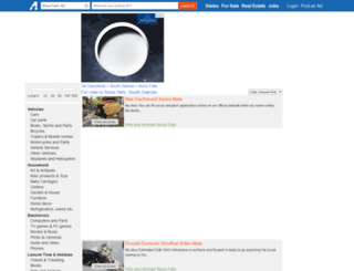 siouxfalls.americanlisted.com screenshot