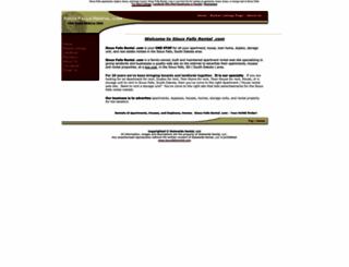 siouxfallsrental.com screenshot