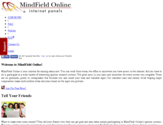 sir05.mindfieldonline.com screenshot