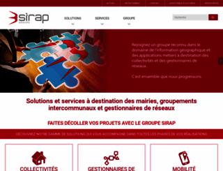 sirap.fr screenshot