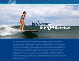 sirensurfsupyoga.com screenshot