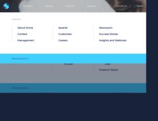 sirma.com screenshot