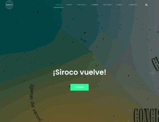 siroco.es screenshot