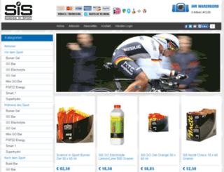 sis-sportnahrung.de screenshot