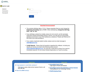 sis.pgcps.org screenshot