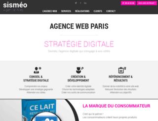 sismeo.com screenshot