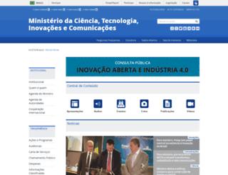 sistema.mc.gov.br screenshot