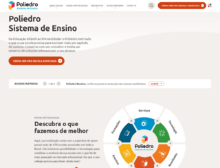 sistemapoliedro.com.br screenshot