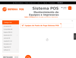 sistemapos.com screenshot