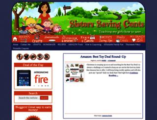 sisterssavingcents.com screenshot