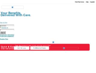 sit1www61.caremark.com screenshot