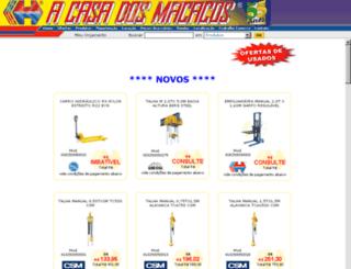 site.acasadosmacacos.com.br screenshot