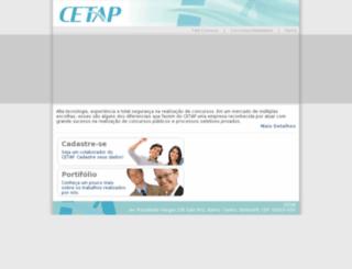site.cetapnet.com.br screenshot