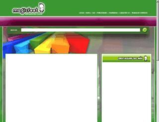 site.magicfeet.com.br screenshot